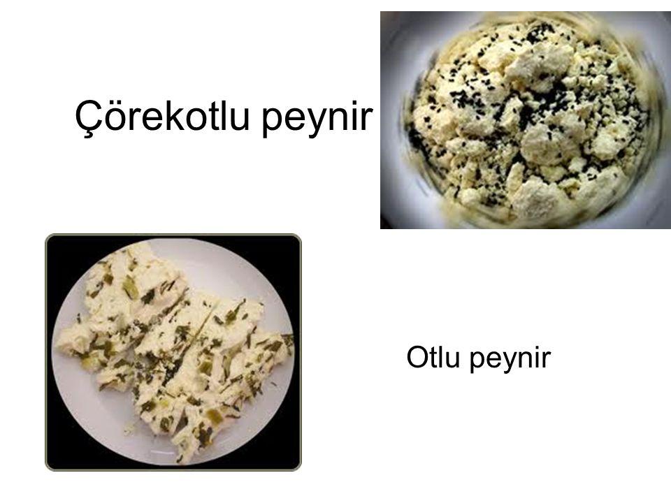 Çörekotlu peynir Otlu peynir