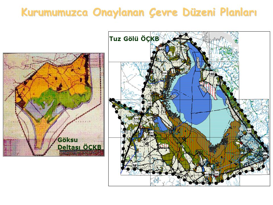 Kurumumuzca Onaylanan Çevre Düzeni Planları
