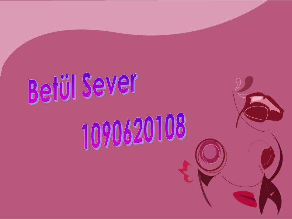 Betül Sever 1090620108