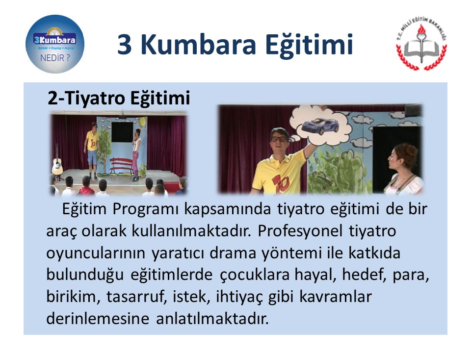 3 Kumbara Eğitimi 2-Tiyatro Eğitimi