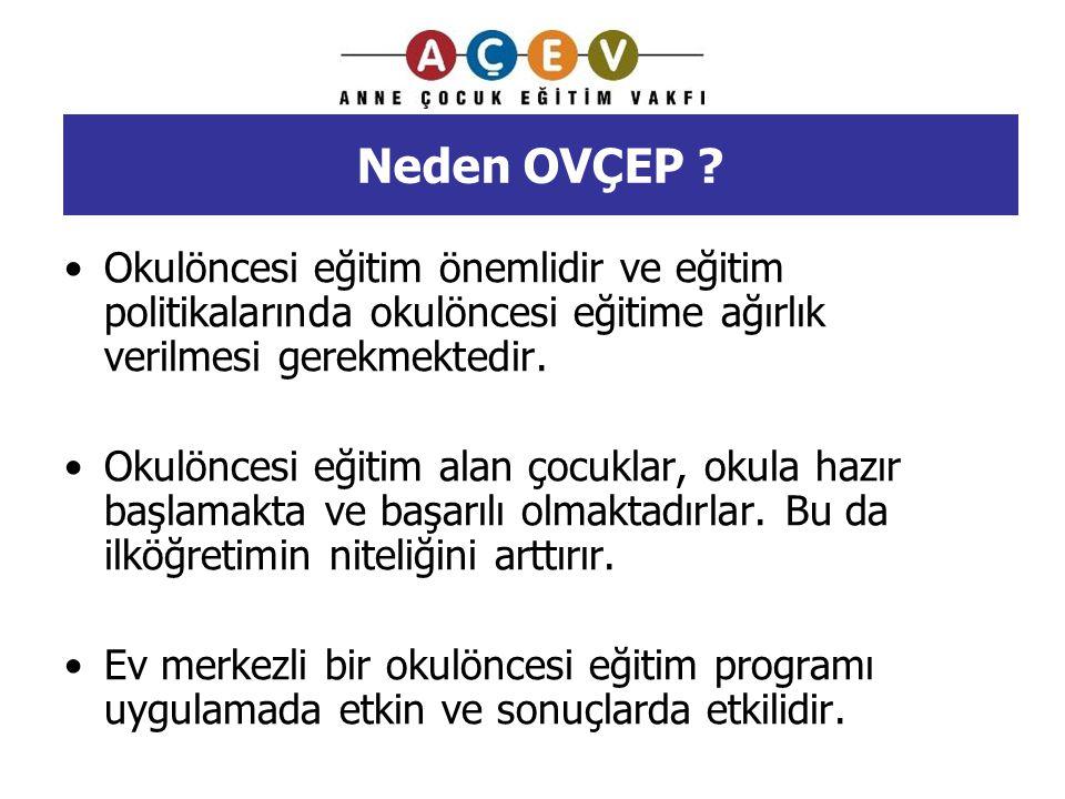 Neden OVÇEP Okulöncesi eğitim önemlidir ve eğitim politikalarında okulöncesi eğitime ağırlık verilmesi gerekmektedir.