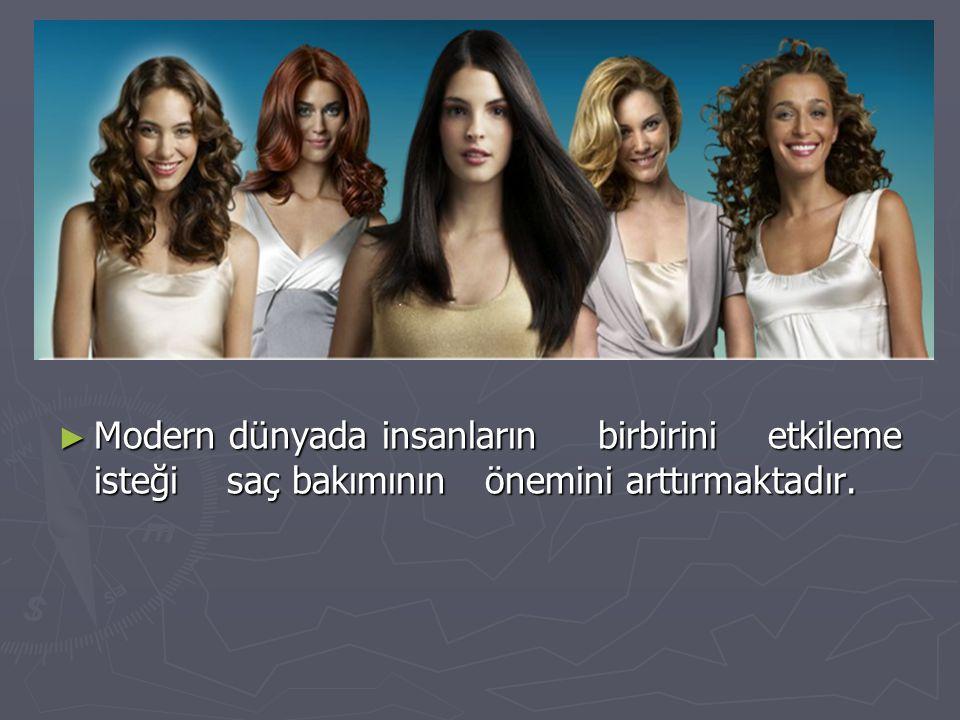 Modern dünyada insanların birbirini etkileme isteği saç bakımının önemini arttırmaktadır.