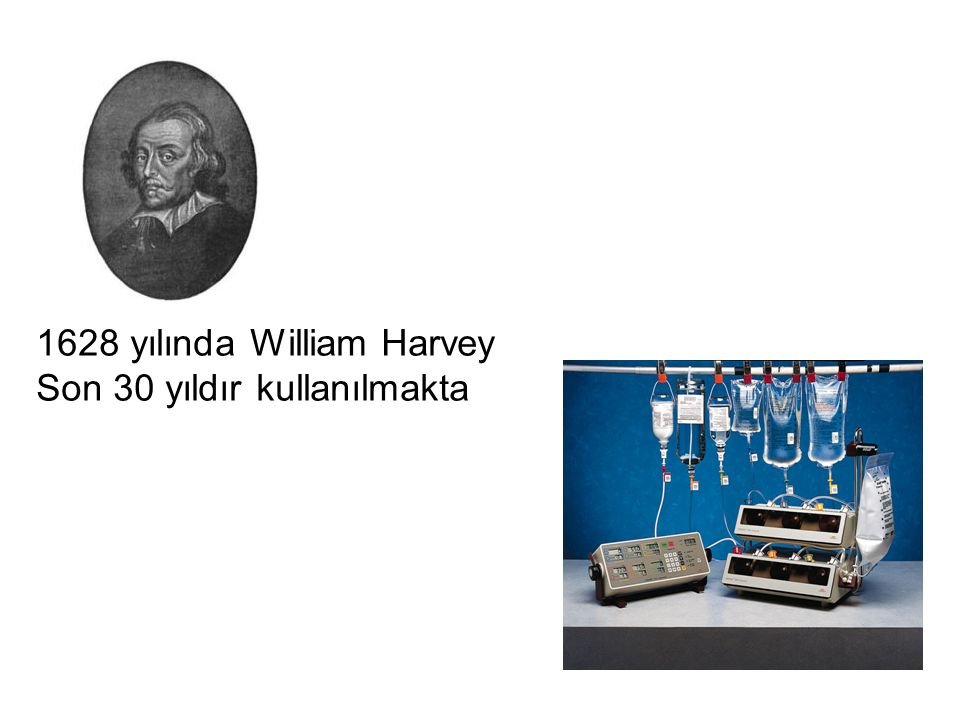 1628 yılında William Harvey