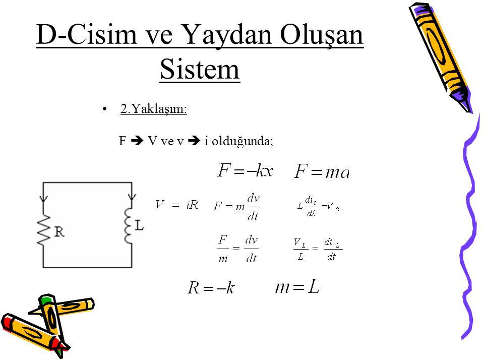 D-Cisim ve Yaydan Oluşan Sistem
