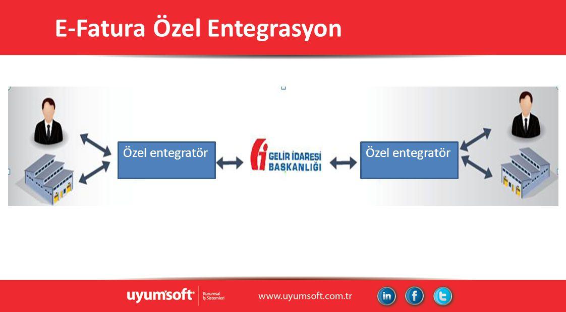 E-Fatura Özel Entegrasyon