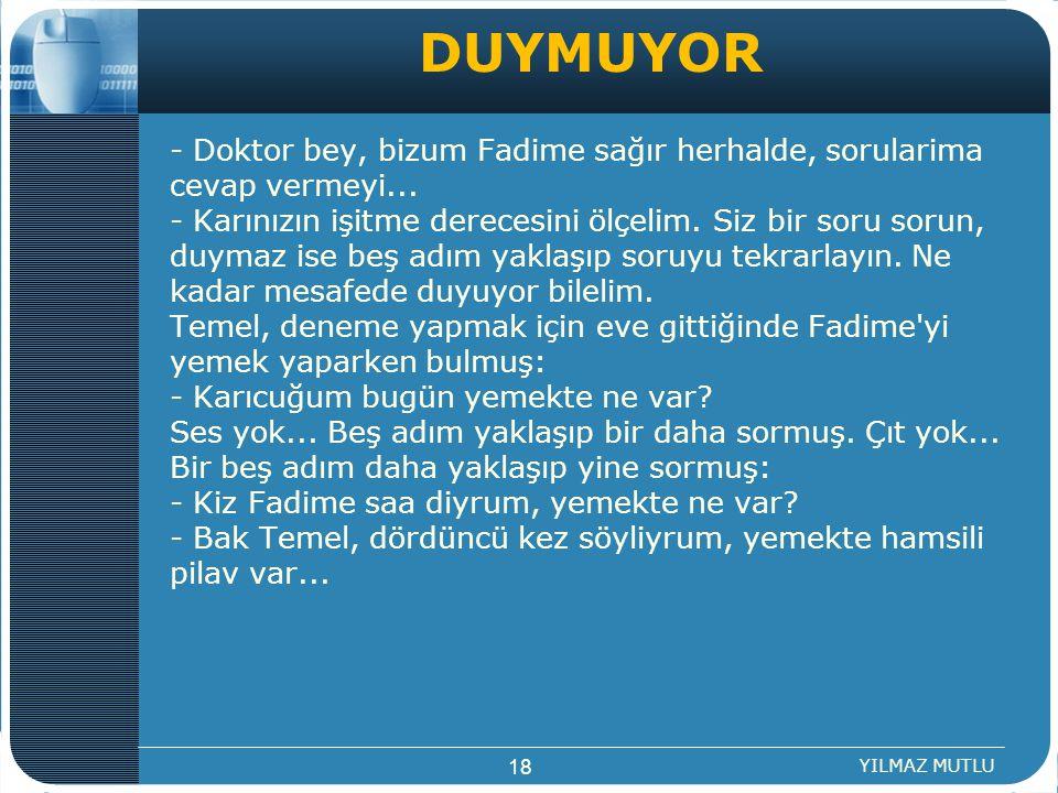 DUYMUYOR