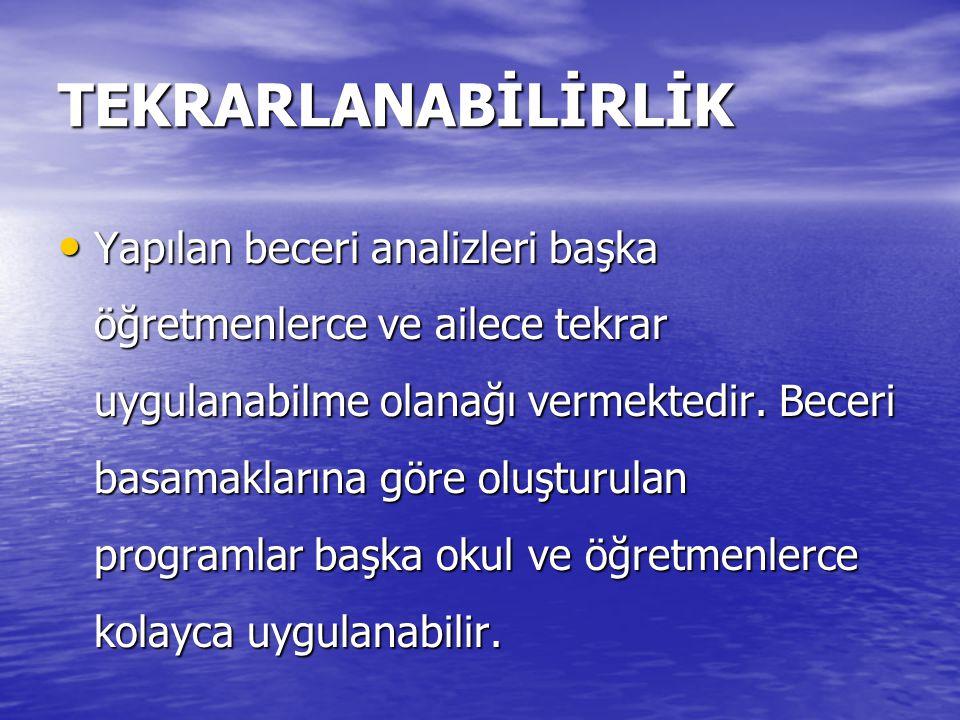 TEKRARLANABİLİRLİK