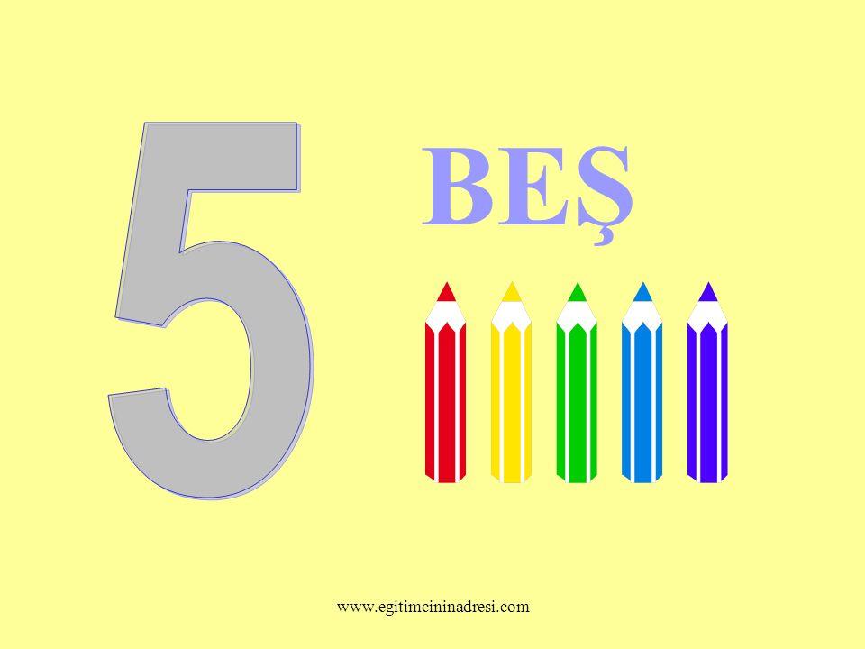 BEŞ 5 www.egitimcininadresi.com