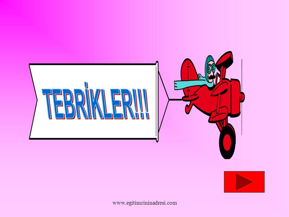 TEBRİKLER!!! www.egitimcininadresi.com