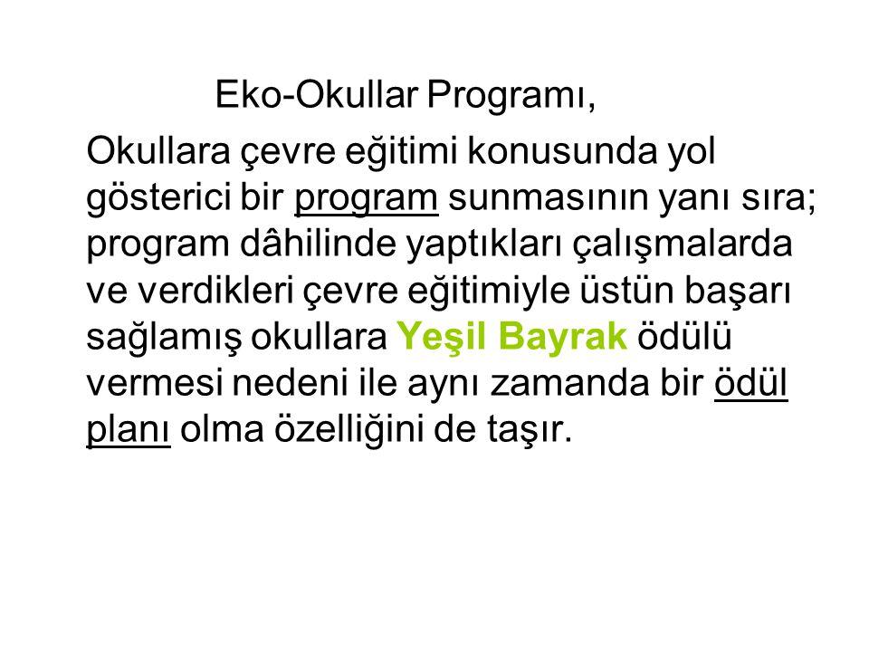 Eko-Okullar Programı,