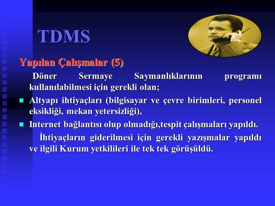 TDMS Yapılan Çalışmalar (5)