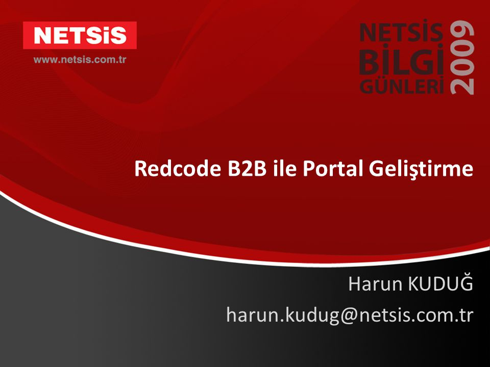 Redcode B2B ile Portal Geliştirme