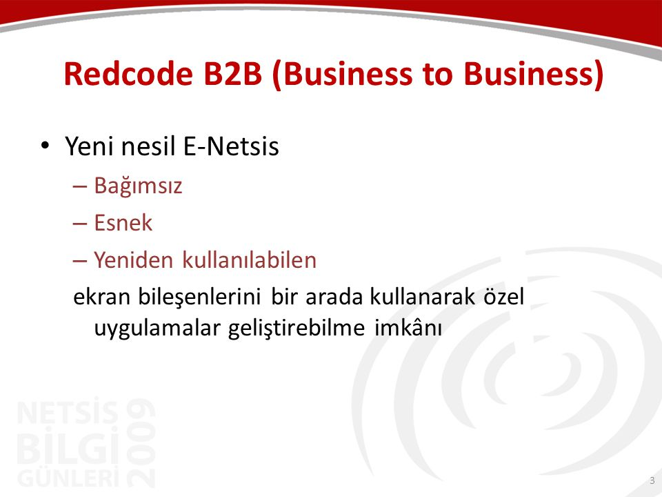 Redcode B2B (Business to Business)