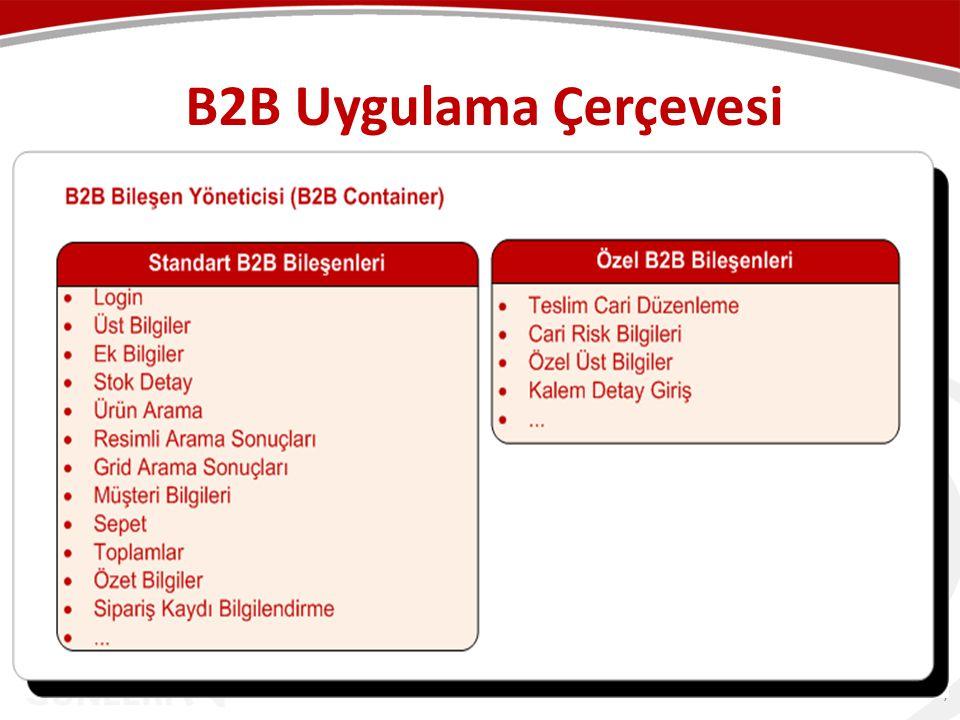 B2B Uygulama Çerçevesi