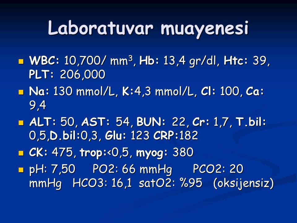 Laboratuvar muayenesi