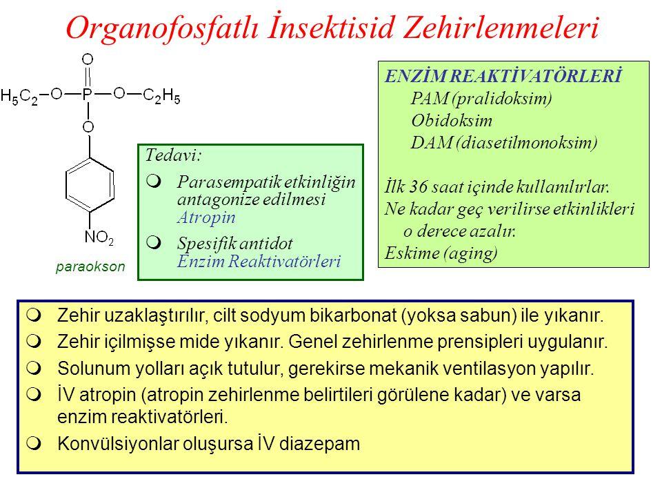 Organofosfatlı İnsektisid Zehirlenmeleri