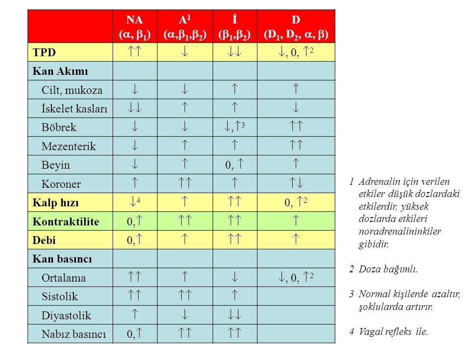 Sempatik sistemi etkileyen ilaçlar