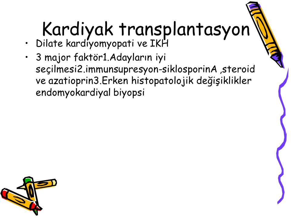 Kardiyak transplantasyon