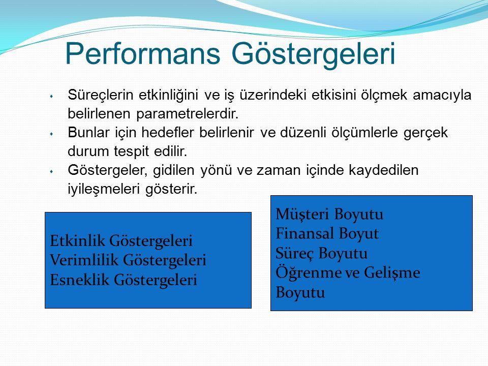 Performans Göstergeleri