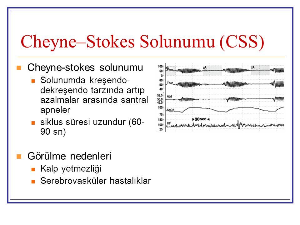 Cheyne–Stokes Solunumu (CSS)