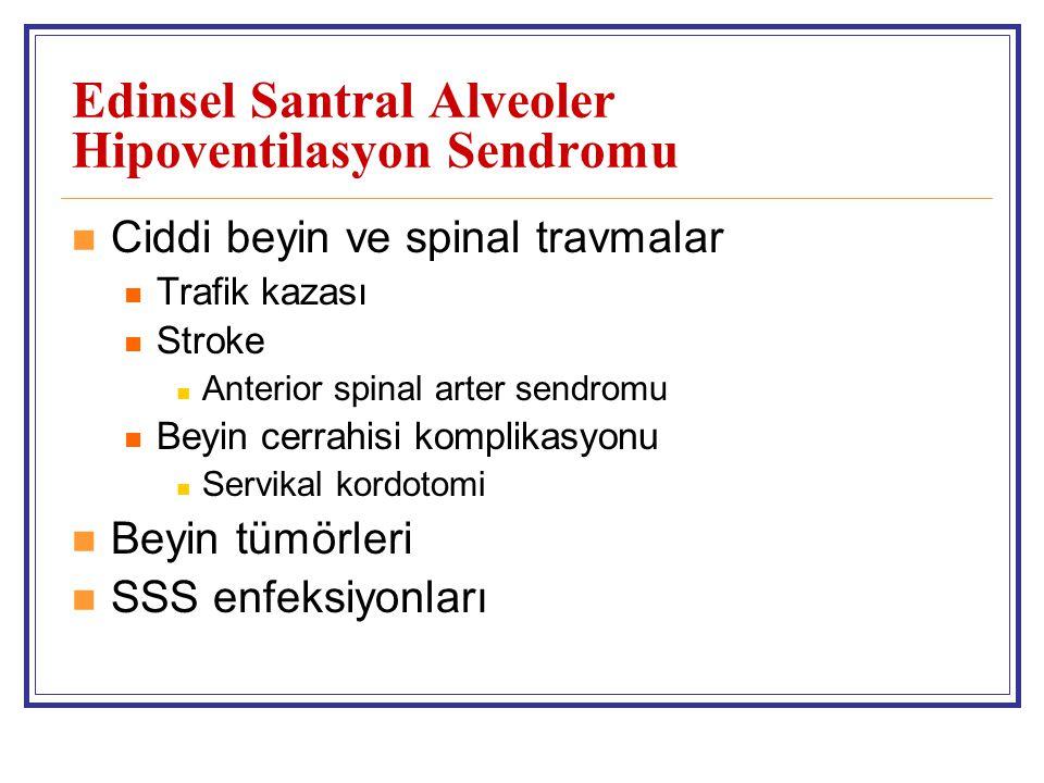 Edinsel Santral Alveoler Hipoventilasyon Sendromu