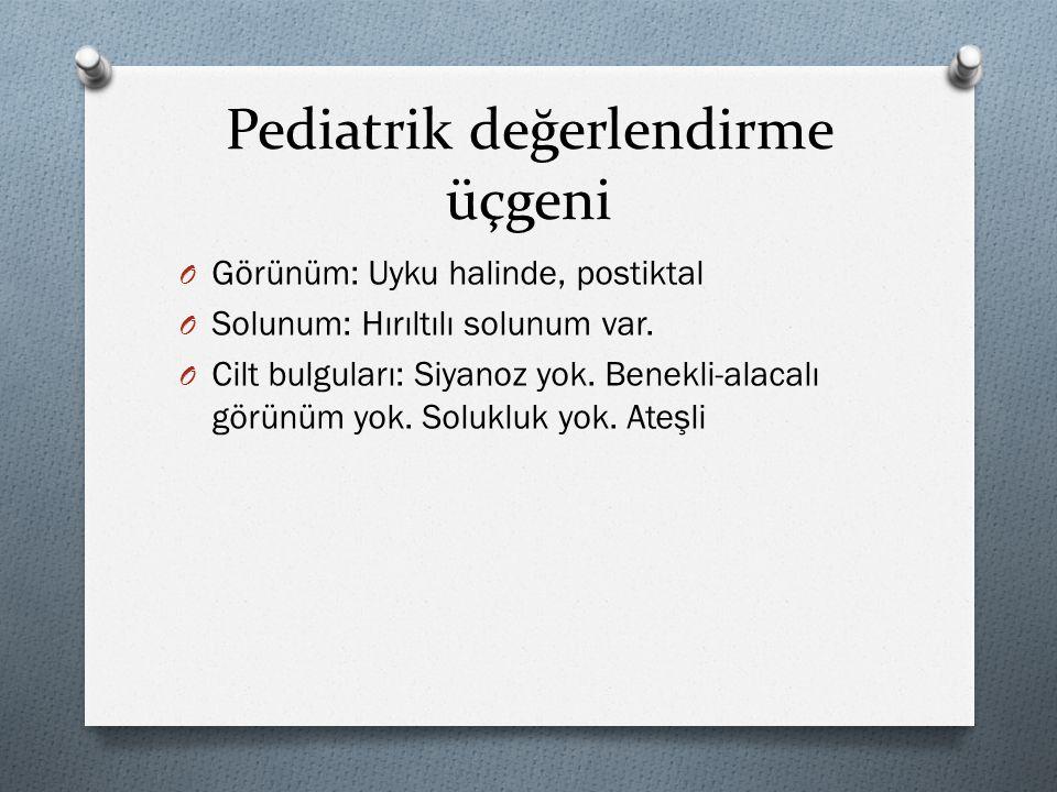Pediatrik değerlendirme üçgeni