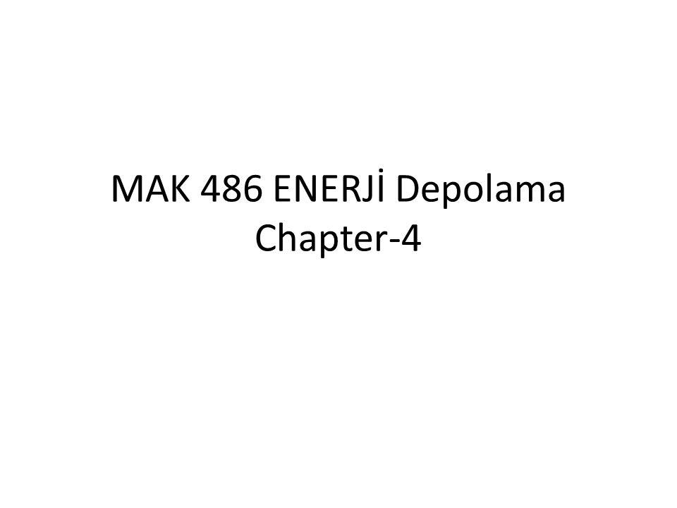 MAK 486 ENERJİ Depolama Chapter-4