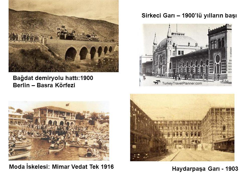 Sirkeci Garı – 1900'lü yılların başı