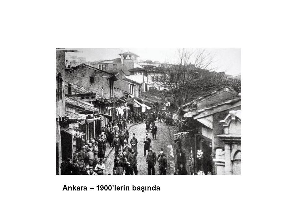 Ankara – 1900'lerin başında