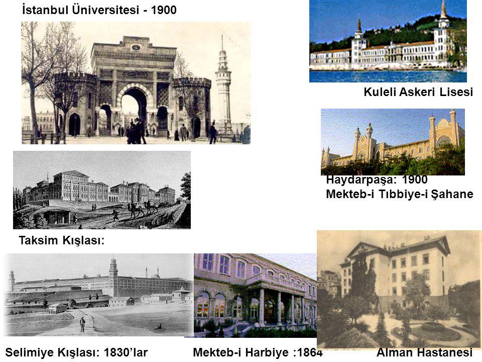 İstanbul Üniversitesi - 1900