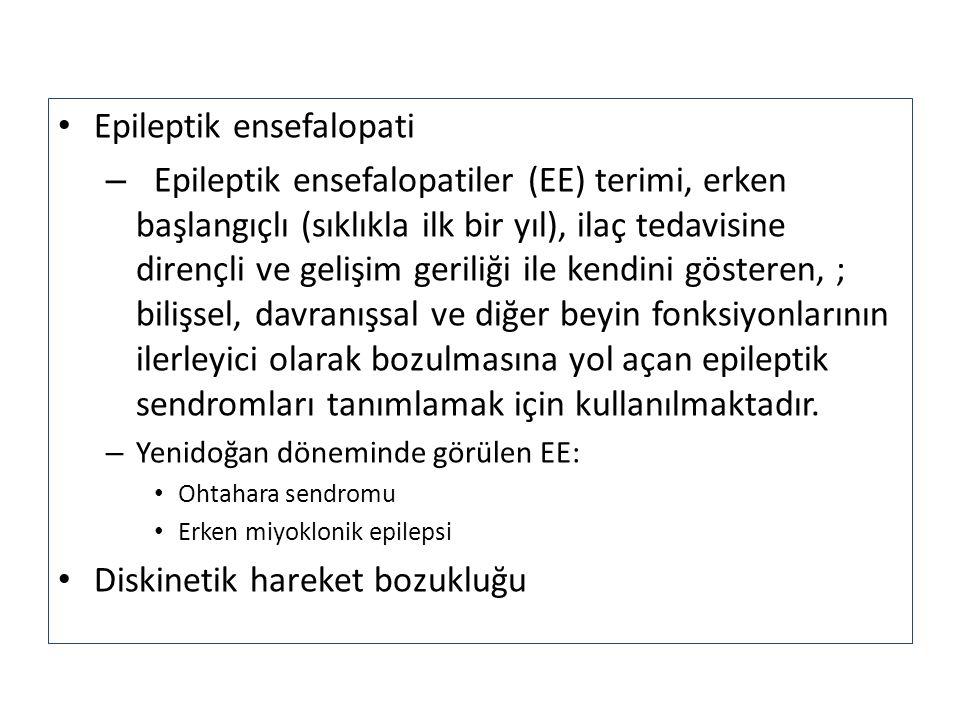 Epileptik ensefalopati