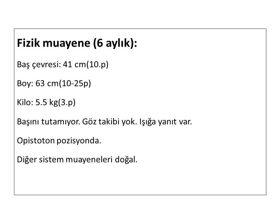 Fizik muayene (6 aylık):