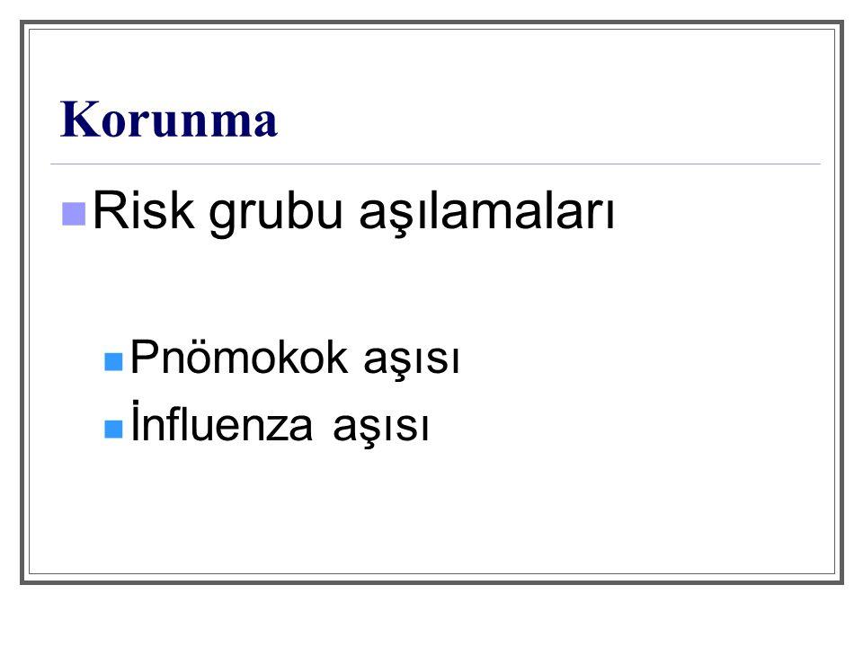 Risk grubu aşılamaları