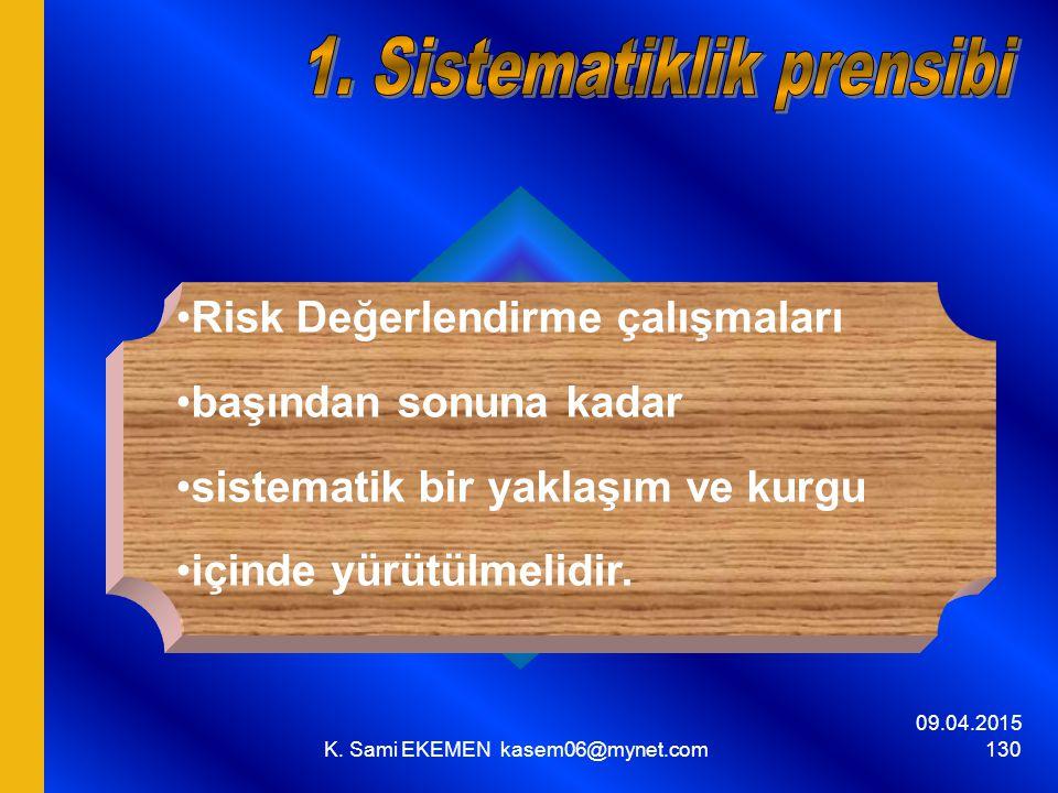 1. Sistematiklik prensibi