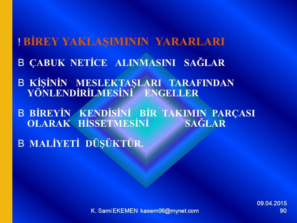 K. Sami EKEMEN kasem06@mynet.com