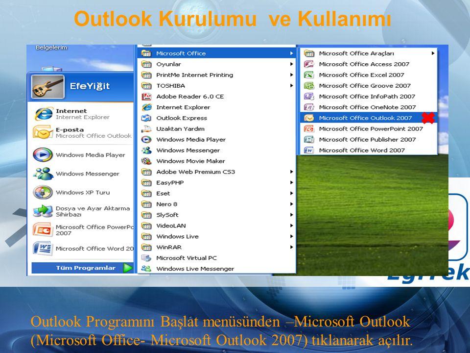 Outlook Kurulumu ve Kullanımı