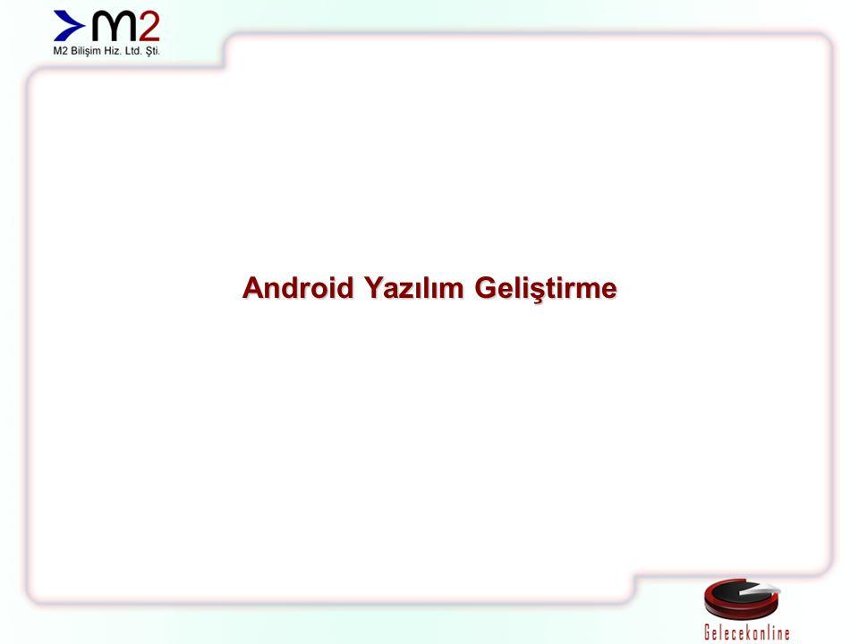 Android Yazılım Geliştirme