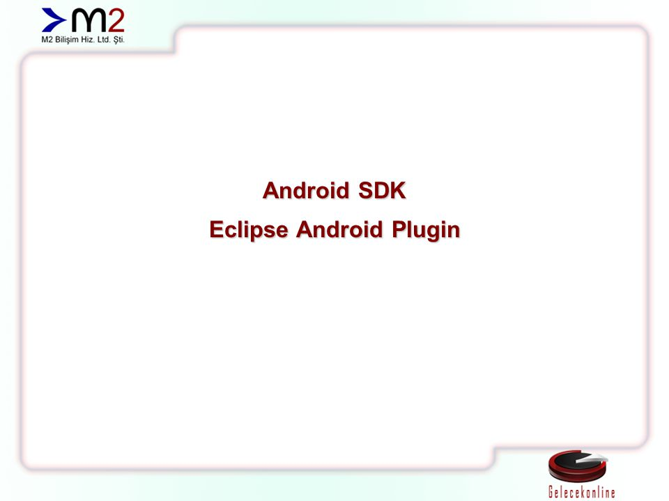 Eclipse Android Plugin