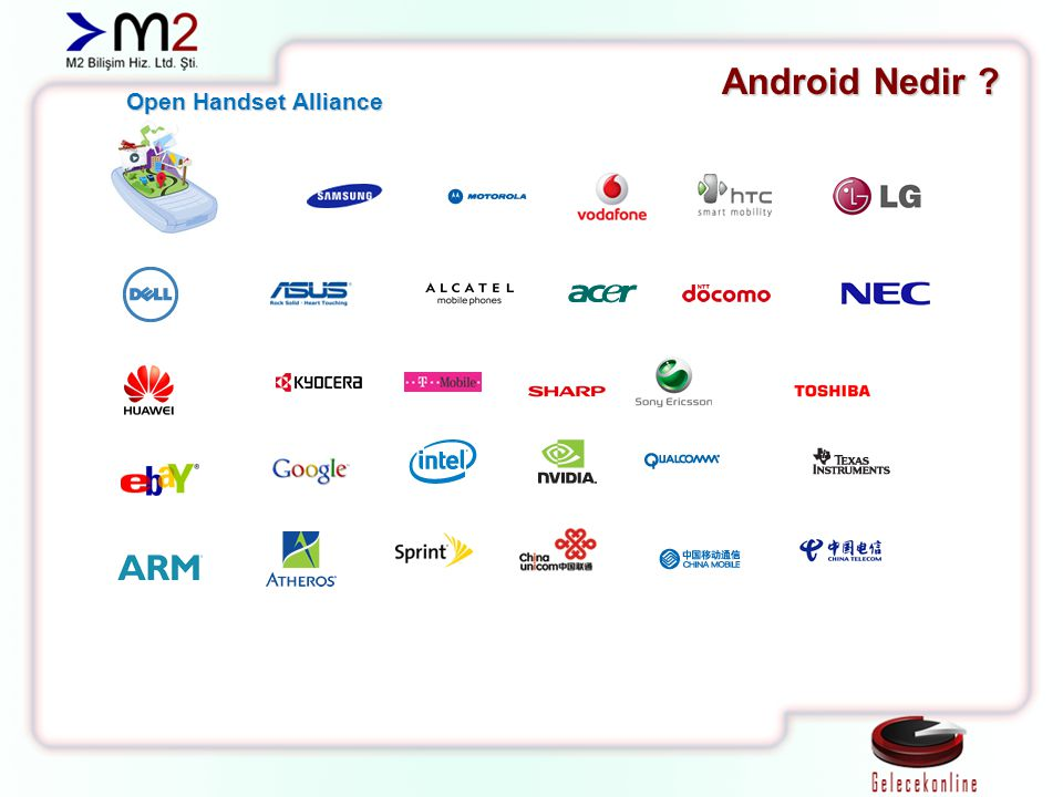 Android Nedir Open Handset Alliance
