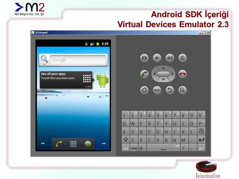 Android SDK İçeriği Virtual Devices Emulator 2.3