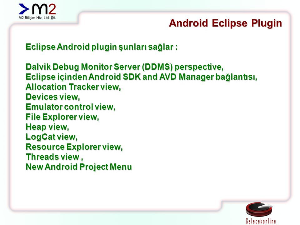 Android Eclipse Plugin