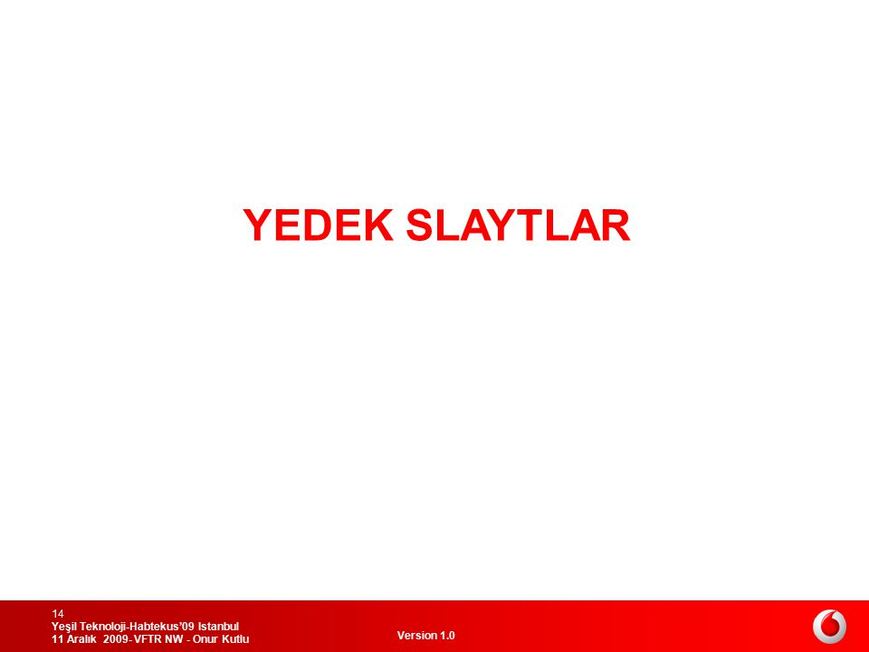 YEDEK SLAYTLAR