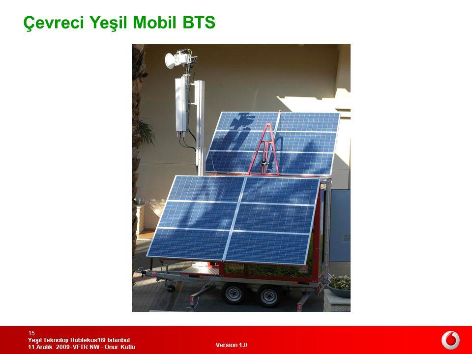 Çevreci Yeşil Mobil BTS