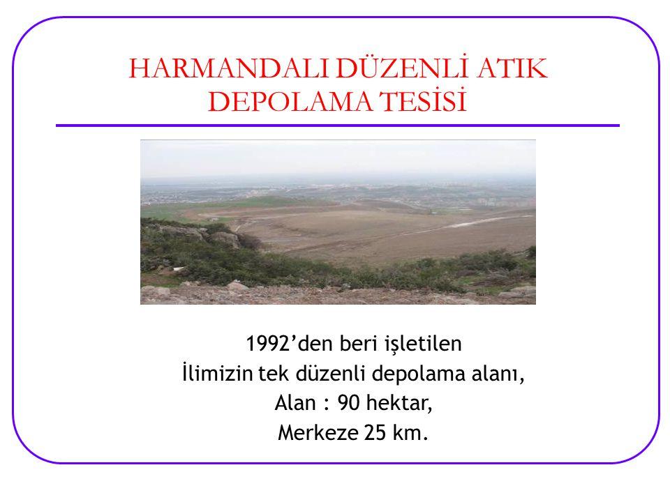 HARMANDALI DÜZENLİ ATIK DEPOLAMA TESİSİ