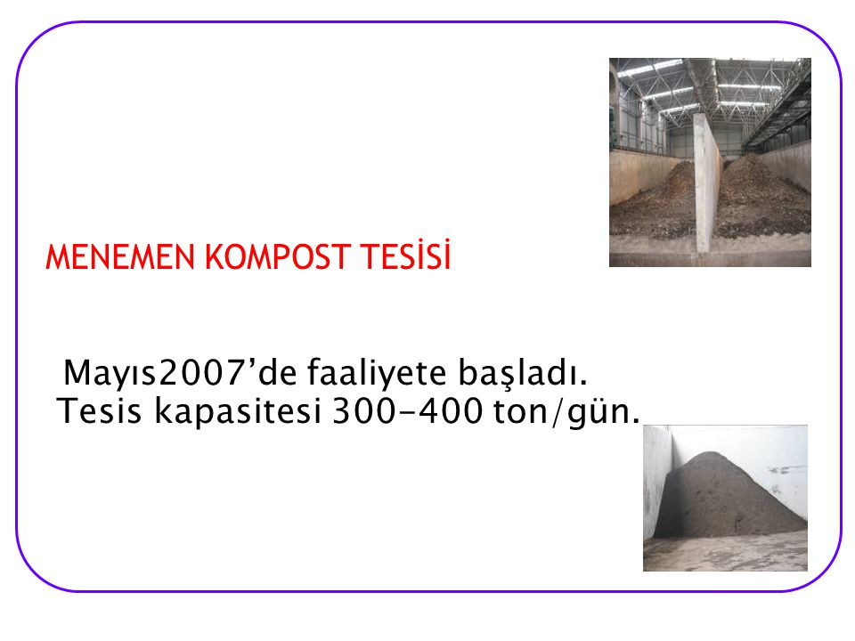 UZUNDERE KOMPOST TESİSİ