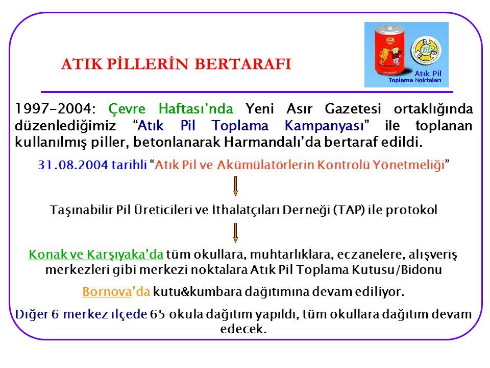 ATIK PİLLERİN BERTARAFI