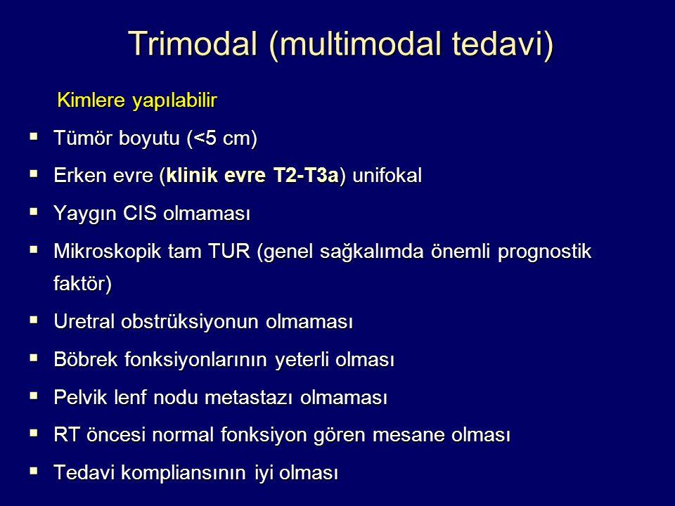 Trimodal (multimodal tedavi)