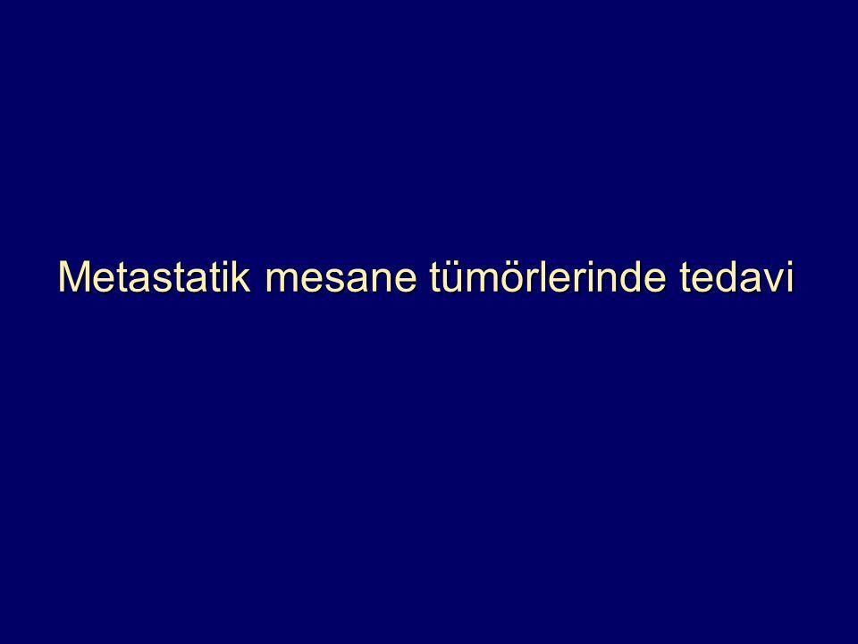 Metastatik mesane tümörlerinde tedavi