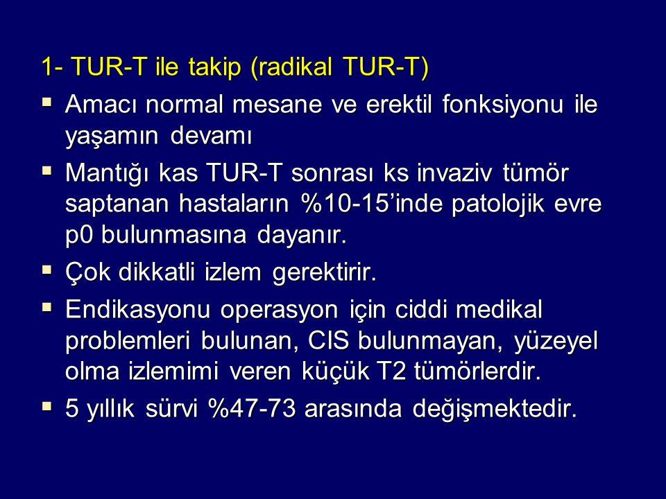 1- TUR-T ile takip (radikal TUR-T)