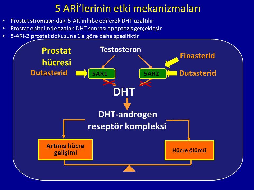 5 ARİ'lerinin etki mekanizmaları